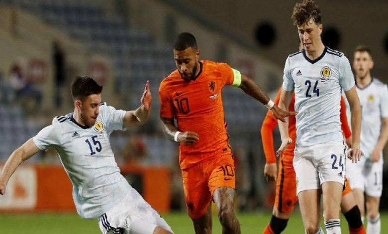 موعد مباراة هولندا وجورجيا لقاء ودي