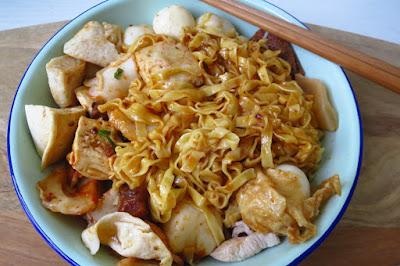 Hui Ji Fishball Noodles (輝記魚圓麵), mee pok