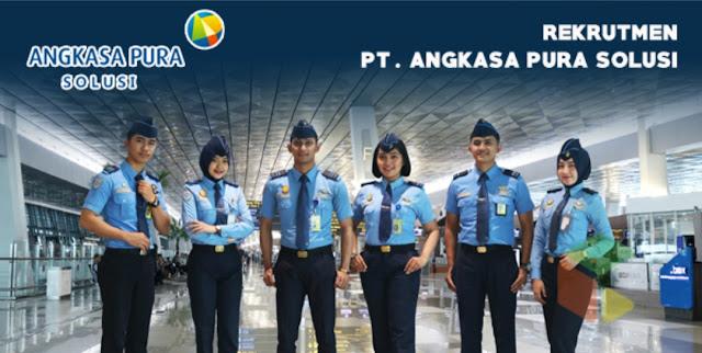 Lowongan Kerja Anak Perusahaan BUMN Angkasa Pura II - PT Angkasa Pura Solusi (APS)   Posisi: Koordinator Cleaning Service