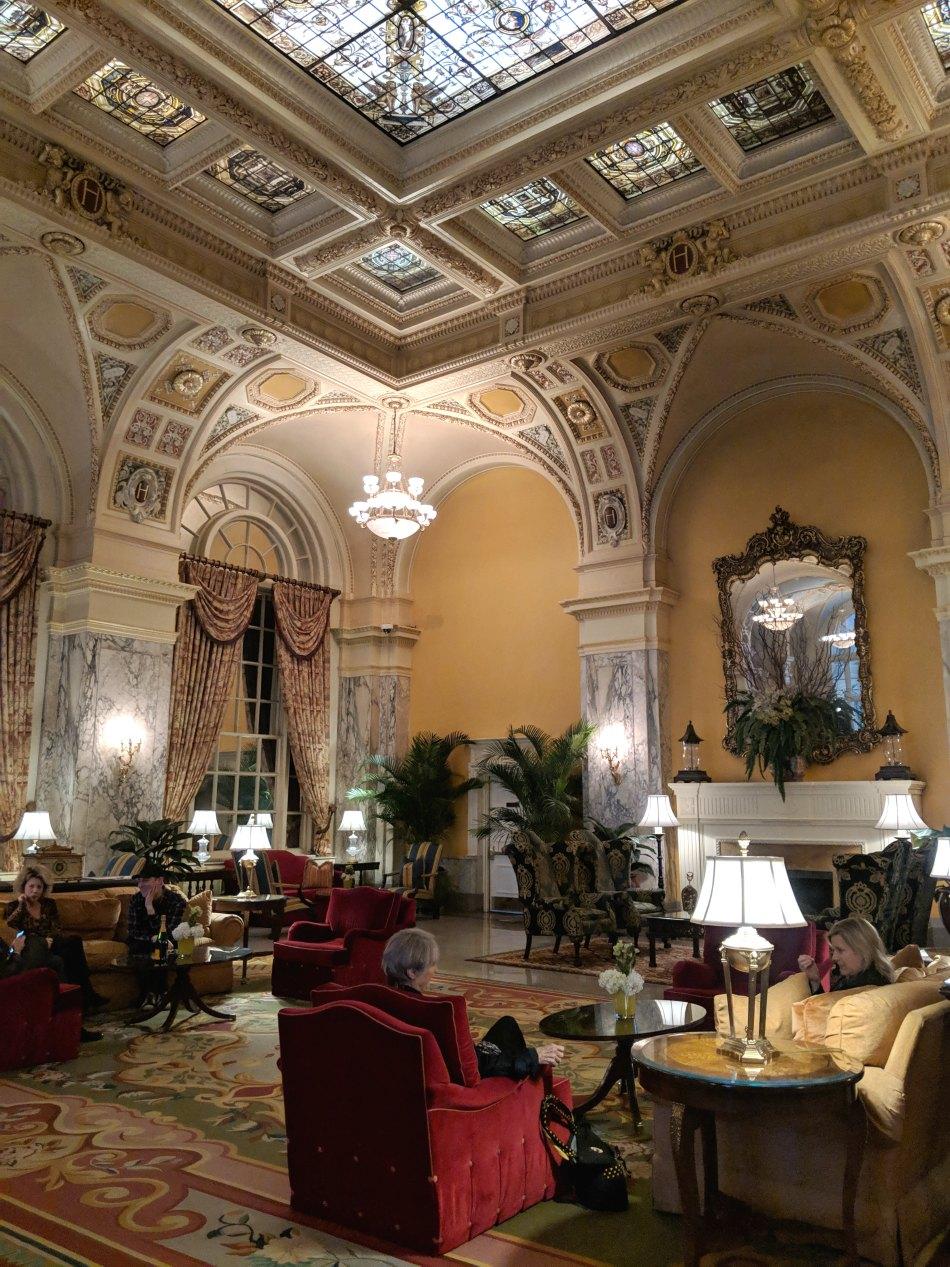 Hermitage Hotel Nashville Lobby
