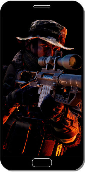 Commando Sniper Battlefield 4 - Fond d'Écran en QHD pour Mobile