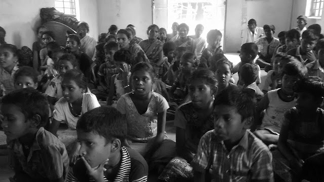 Children at Manitham in Manamadurai, Tamil Nadu