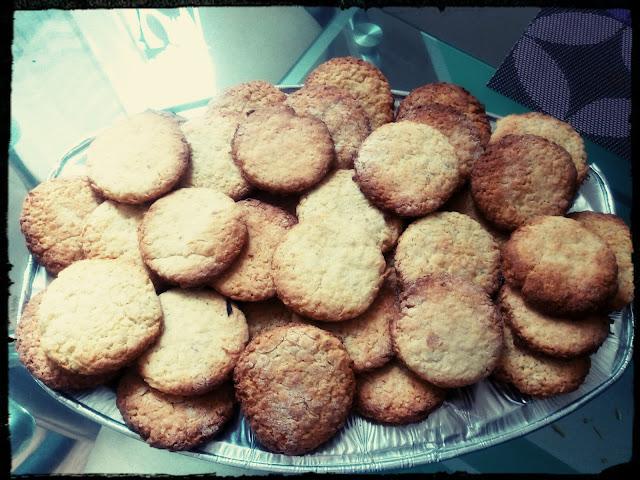 ciastka ciasteczka owsiane kokosowe