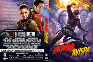 Ant-Man and The Wasp- Ant Man y la Avispa - Cover DVD