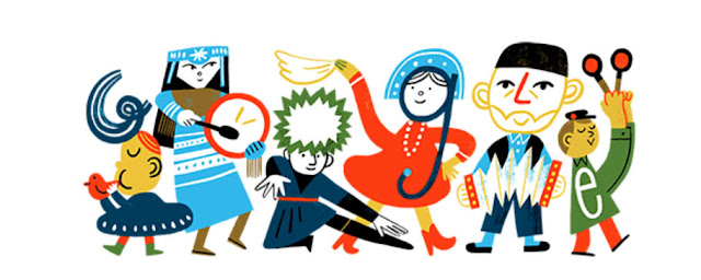 Doodle День России