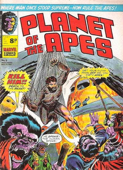 Marvel UK Planet of the Apes #5