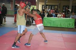 Jeffry Rahawarin Gelar Pertandingan Tinju di Pulau Ambon