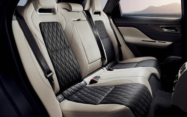 Jaguar E-Pace được thiết kế nội thất nhờ các vật liệu da cao cấp