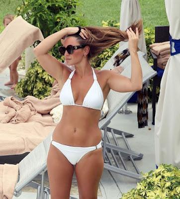 Sam Faiers in Bikini – Turks and Caicos Island