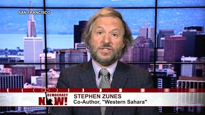 Stephen Zunes avisa que sería ''muy peligroso'' no cancelar la proclamación de Trump sobre el Sáhara Occidental.