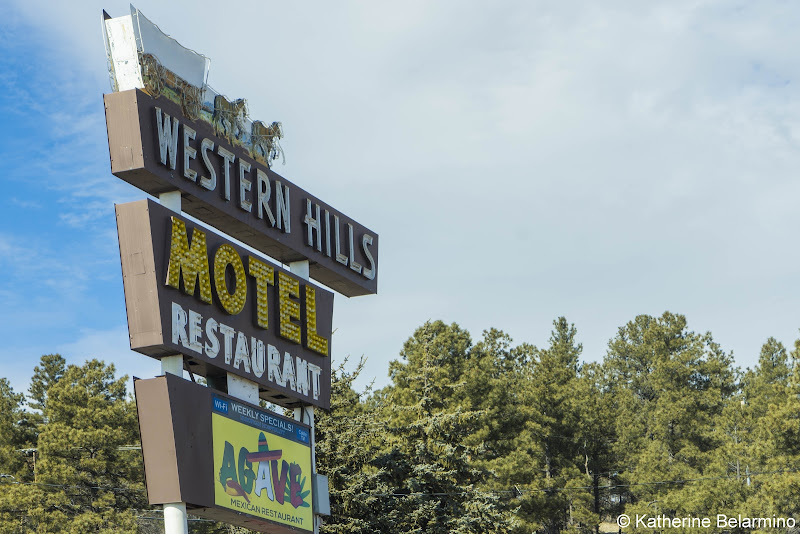 Western HIlls Motel Flagstaff Arizona Route 66 90th Anniversary Road Trip