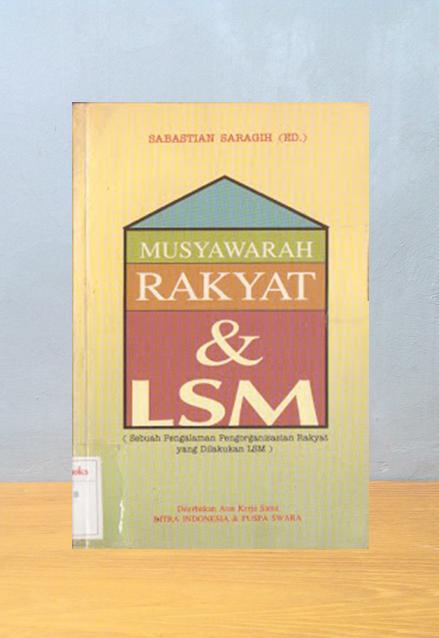 MUSYAWARAH RAKYAT & LSM, Sabastian Saragih