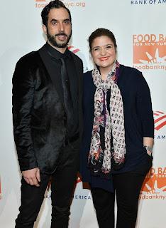 Alex Guarnaschelli with her boyfriend Michael Castellon