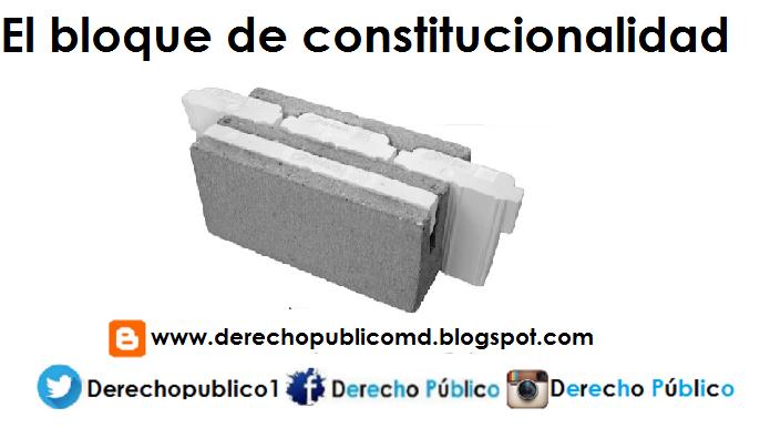 BLOQUE DE CONSTITUCIONALIDAD PDF