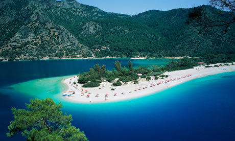 best beach in europe? oludeniz, turkey