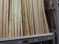 1/2 inch yellow pine wood boards
