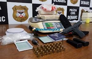 Casal é preso levando 4 kg de cocaína de Guajará-Mirim a Porto Velho