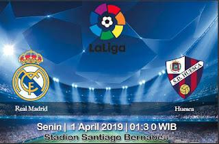 Prediksi Real Madrid Vs Huesca 1 April 2019