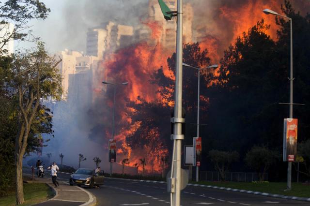 Israel Dijilat Api, Netanyahu Tuduh Palestin Dalang Kebakaran