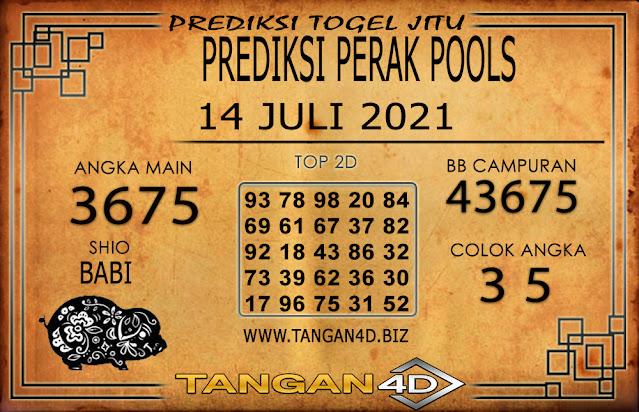 PREDIKSI TOGEL PERAK TANGAN4D 14 JULI 2021