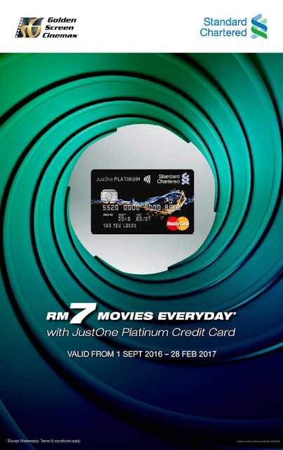 GSC Cinema Movie Ticket Discount Promo Standard Chartered Credit Card