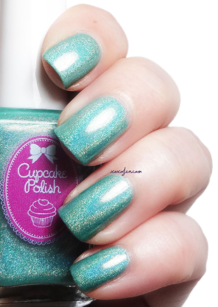 xoxoJen's swatch of Cupcake Polish: Sea Colored Glasses