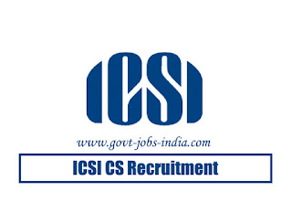 ICSI CS Recruitment