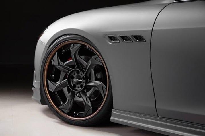 Maserati Quattroporte cực đỉnh với bản độ của Wald