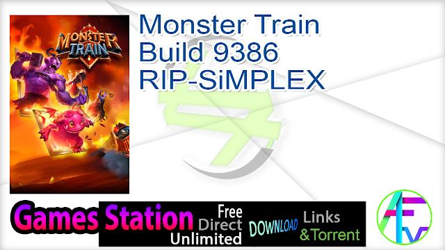 Monster Train Build 9386 RIP-SiMPLEX
