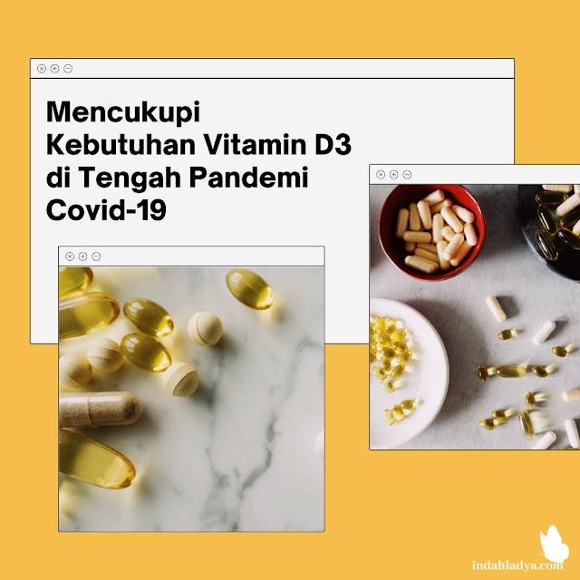 Mencukupi Kebutuhan Vitamin D3