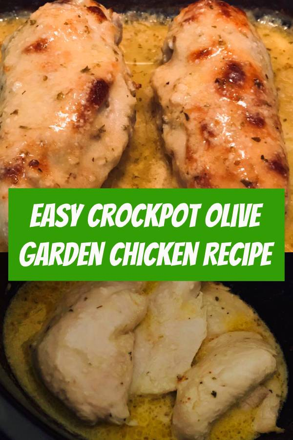 Crockpot Olive Garden Chicken Recipe! This copycat dinner recipe is such a delicious + easy addition to your menu! Jazz up your ordinary weeknight dinner with this Crockpot Olive Garden Chicken recipe! #crockpot #chicken #chickenrecipe #dinner