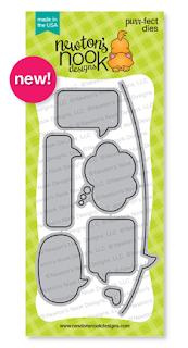 Speech Bubbles Die Set by Newton's Nook Designs #newtonsnook