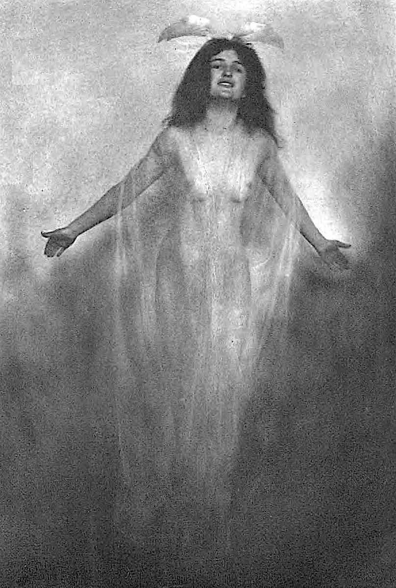 an Adelaide Hanscom 1905 pictorialism photograph