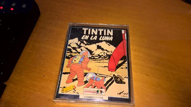 Tintin en la Luna
