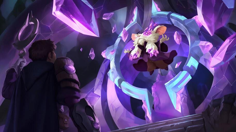 Mentor of The Stones, Targon, Legends of Runeterra, 4K, #5.2731