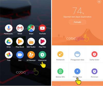 Cara Membersihkan Virus Dan Sampah Pada Hp Xiaomi