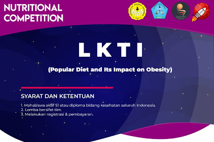 Event Lomba Nutritional Competition (NUTRICOM) Nasional 2019 Untuk Mahasiswa