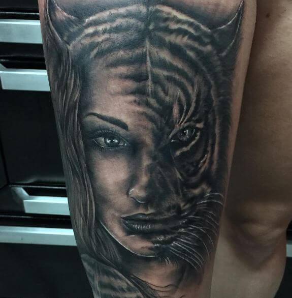 63 best tiger tattoo ideas designs 2018 tattoosboygirl for Tiger tattoo face