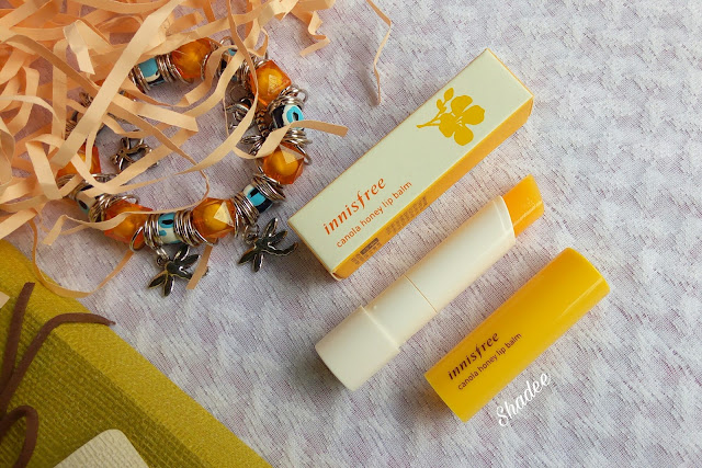 Innisfree Canola Honey Lip Balm Review