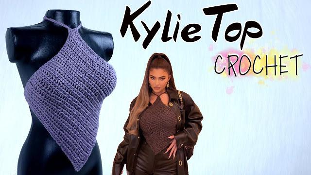 Top Kylie a Crochet