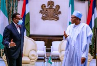 We are behind you Buhari to Akinwunmi Adesina