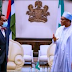 Nigeria Solidly Behind Your Re-election As The President African Development Bank Buhari Tells Adesina