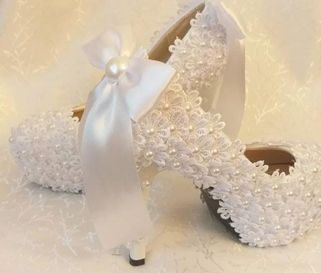 sepatu pernikahan + sepatu pengantin