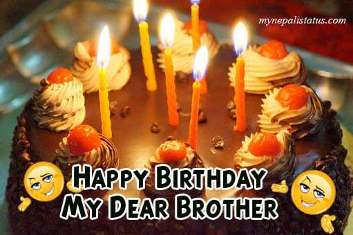 Heart touching Birthday Wishes hindi brother