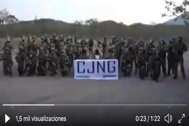 """VIDEO.- Sicarios del CJNG amenazan al """"Cártel de los Ministeriales"""" en San Luis Potosi y lanza amenaza dice hicieron pacto con Golfos y Norestes"""