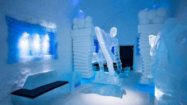 Icehotel Swedia Memperkenalkan Tampilan Baru di Tahun 2021