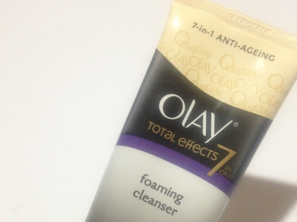 REVIEW | Olay Total Effects 7in1 Foaming Cleanser