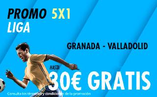 suertia promocion Granada vs Valladolid