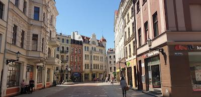 Toruń ulica Szeroka