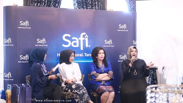 Safi Beauty Gathering Medan, Sharing Session with Cheryl Raissa